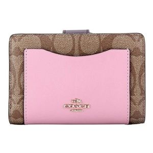 Coach 57824 Medium Signature Corner Zip Wallet